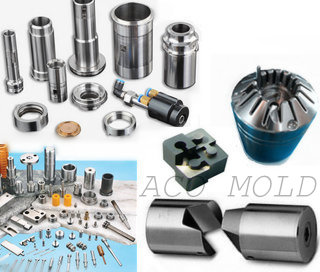 CNC machined parts of plastic mold die casting