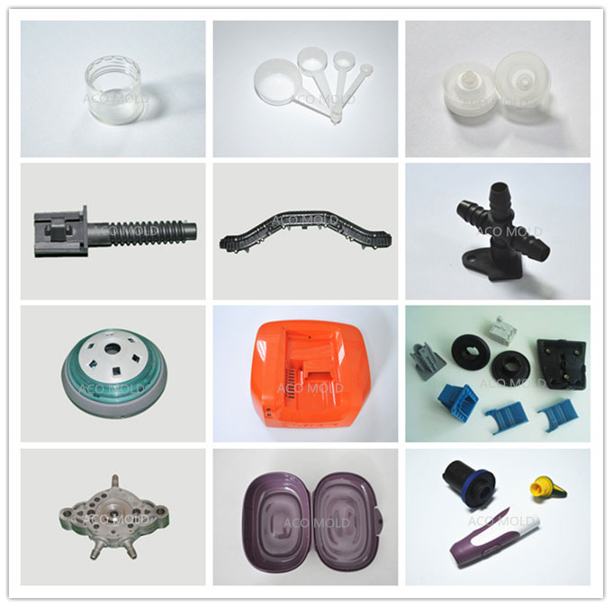 injection molded parts and products