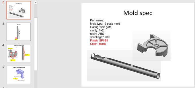 Plastic tubes basic mold information