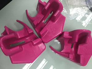Qualified molded plastic parts