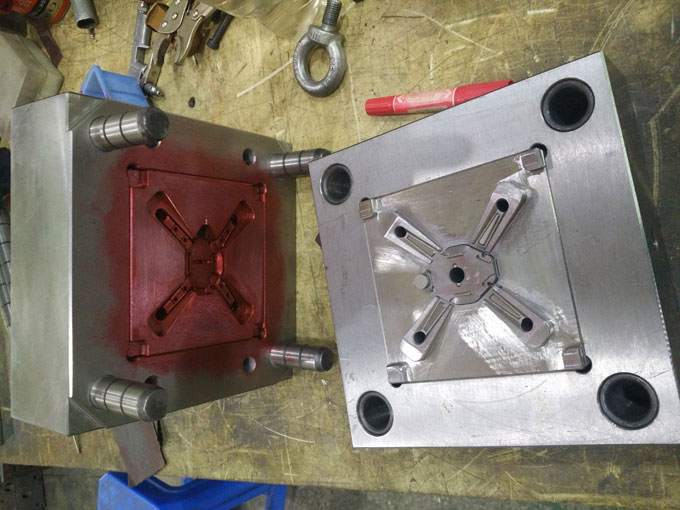 UAV injection mold